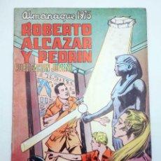 Tebeos: ROBERTO ALCÁZAR Y PEDRÍN EXTRA ALMANAQUE 1976 VALENCIANA, 1975. Lote 128443924