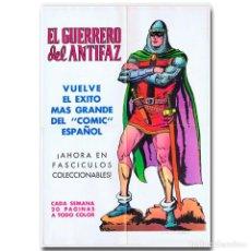 Tebeos: CARTEL PROMOCIONAL EL GUERRERO DEL ANTIFAZ 1972. Lote 118562999