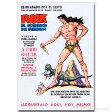 Tebeos: CARTEL PROMOCIONAL PURK, EL HOMBRE DE PIEDRA 1973. Lote 118563231