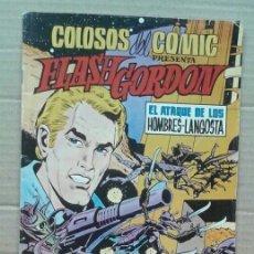Tebeos: LOTE COLOSOS DEL COMIC PRESENTA FLASH GORDON. NÚMEROS 8 Y 14. EDITORA VALENCIANA, 1980.. Lote 118687998