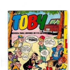 Tebeos: TOBY Nº 2 -CON HÉROES DEL DEPORTE- DE AMBRÓS.VALENCIANA 1982. . Lote 118851235