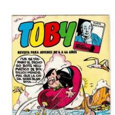 Tebeos: TOBY Nº 10 -CON HÉROES DEL DEPORTE- DE AMBRÓS.VALENCIANA 1982.. Lote 129186120