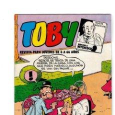 Tebeos: TOBY Nº 11 -CON HÉROES DEL DEPORTE- DE AMBRÓS.VALENCIANA 1982. SIN LEER.. Lote 118851627