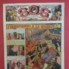 Tebeos: S.O.S. EDITORIAL VALENCIANA. Nº 1 ORIGINAL. MBE. Lote 119125707