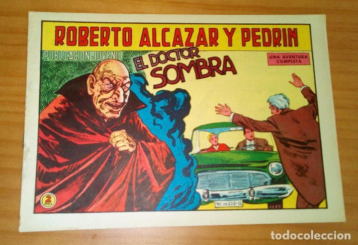 ORIGINAL - ROBERTO ALCAZAR Y PEDRÍN - NÚMERO 856: EL DOCTOR SOMBRA (Tebeos y Comics - Valenciana - Roberto Alcázar y Pedrín)