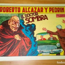 Tebeos: ORIGINAL - ROBERTO ALCAZAR Y PEDRÍN - NÚMERO 856: EL DOCTOR SOMBRA. Lote 119131671