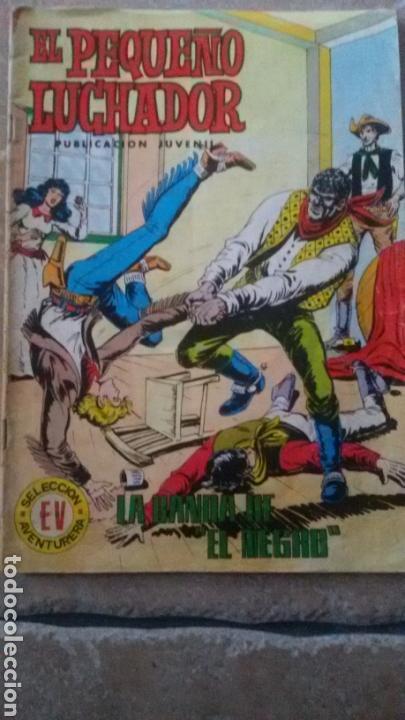 EL PEQUEÑO LUCHADOR, NÚMERO 60, LA BANDA DEL NEGRO. (Tebeos y Comics - Valenciana - Pequeño Luchador)
