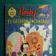 Tebeos: PUMBY / EL CASERÓN ENCANTADO / Nº 27 / 1970. EDITORA VALENCIANA. Lote 119151855