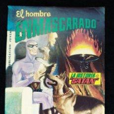 Tebeos: EL HOMBRE ENMASCARADO Nº 18 - LA HISTORIA DE SATAN - COLOSOS DEL COMIC - AÑO 1980 - ED VALENCIANA. Lote 119259323