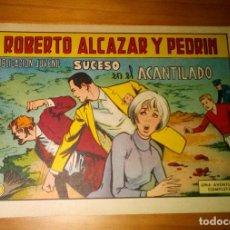 Livros de Banda Desenhada: ORIGINAL - ROBERTO ALCAZAR Y PEDRÍN - NÚMERO 935: SUCESO EN EL ACANTILADO - MUY BUEN ESTADO. Lote 119345731