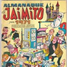 Tebeos: JAIMITO ALMANAQUE PARA 1971 05/12/1970. Lote 119443223