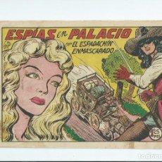 Tebeos: EL ESPADACHIN ENMASCARADO Nº 136 ED. VALENCIANA. ORIGINAL. Lote 119524155