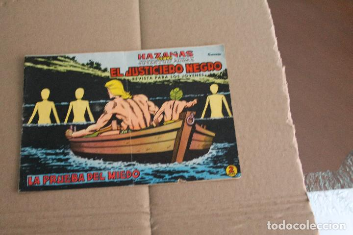 EL JUSTICIERO NEGRO Nº 5, EDITORIAL VALENCIANA (Tebeos y Comics - Valenciana - Otros)