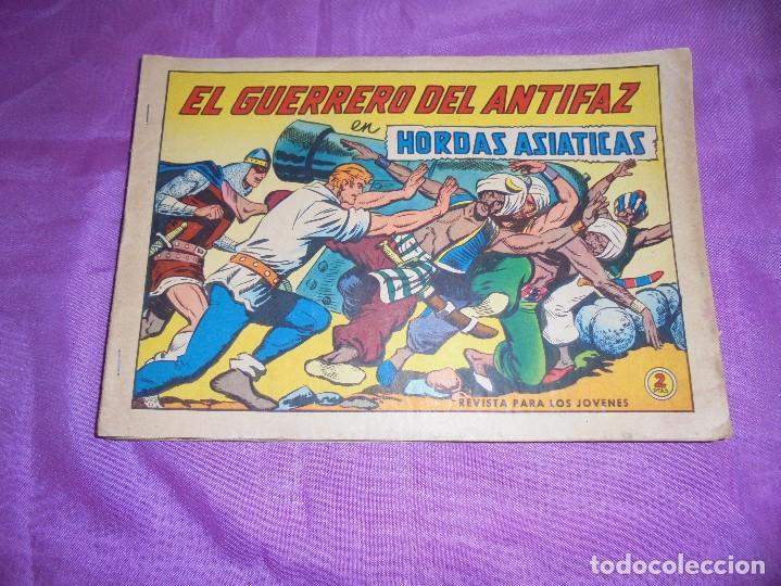 EL GUERREO DEL ANTIFAZ : HORDAS ASIATICAS . Nº 620, GAGO. EDIT VALENCIANA. 2 PTA (Tebeos y Comics - Valenciana - Guerrero del Antifaz)