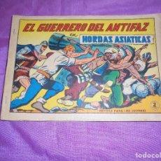 Tebeos: EL GUERREO DEL ANTIFAZ : HORDAS ASIATICAS . Nº 620, GAGO. EDIT VALENCIANA. 2 PTA. Lote 119613119