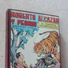 Tebeos: COMICS ROBERTO ALCAZAR Y PEDRIN EDIVAL SEGUNDA EPOCA ENCUADERNADO. Lote 119672359