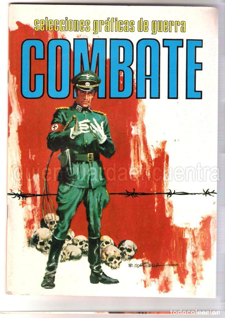 LOTE 7 COMICS COMBATE 64-103-128-129 AREA RELATOS DE GUERRA 7 Y 8 COMANDOS EN ACCIÓN DEL MAR Nº 5 (Tebeos y Comics - Valenciana - Selección Aventurera)