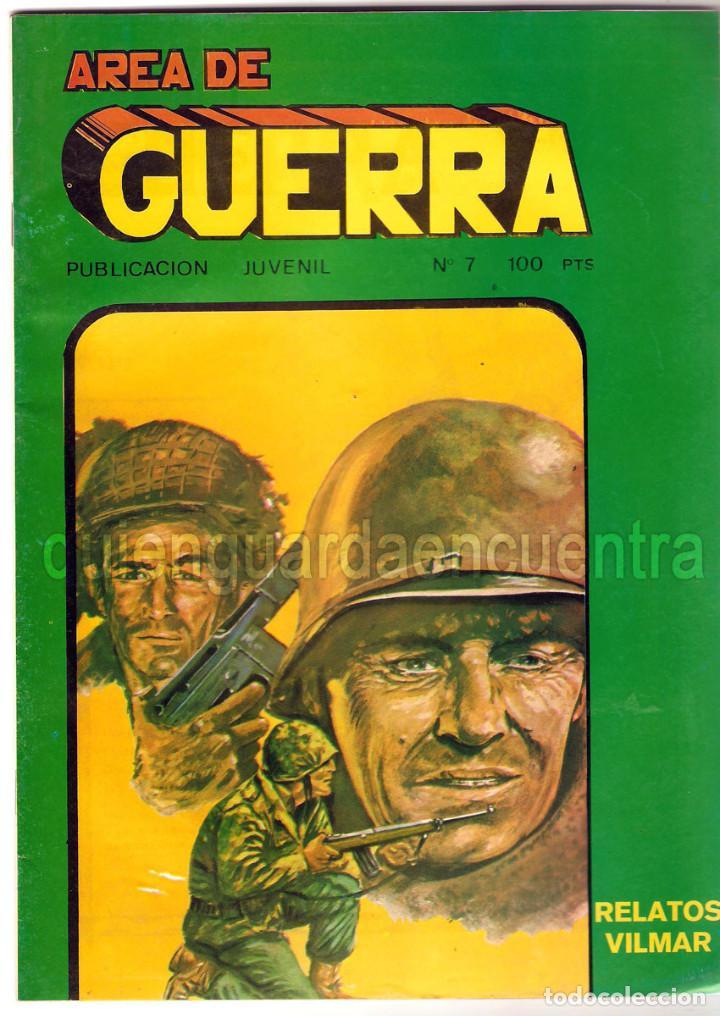 Tebeos: Lote 7 comics combate 64-103-128-129 area relatos de guerra 7 y 8 comandos en acción del mar nº 5 - Foto 2 - 119943299