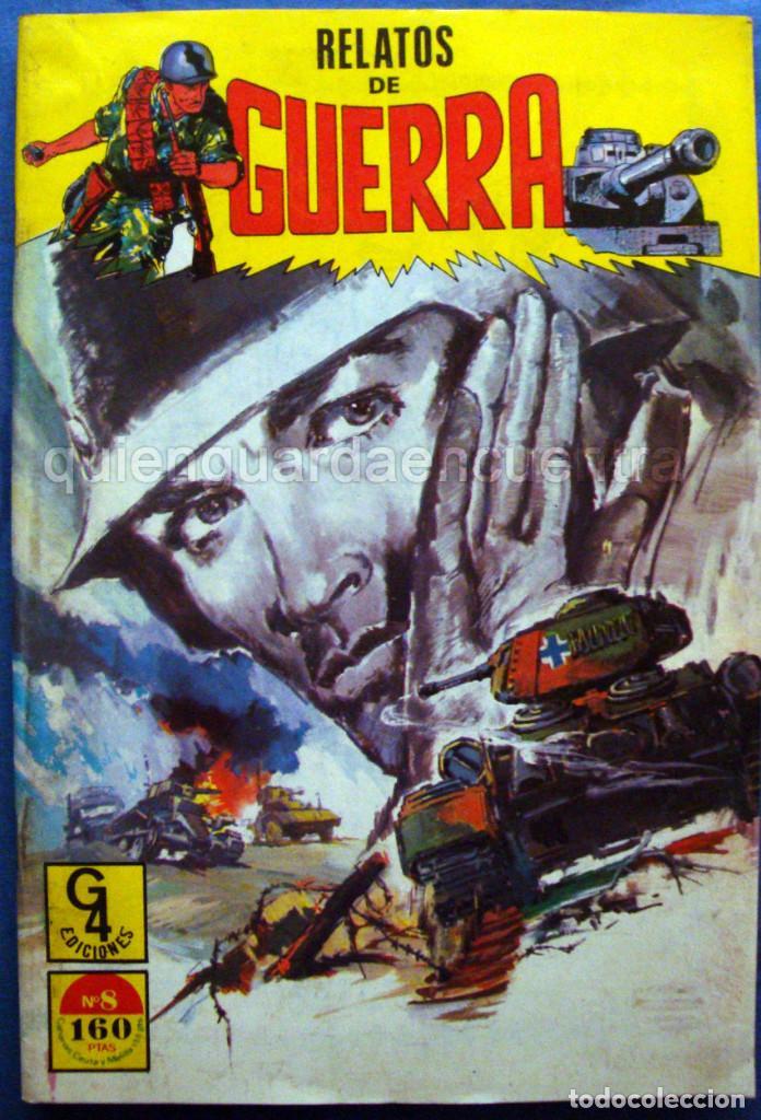 Tebeos: Lote 7 comics combate 64-103-128-129 area relatos de guerra 7 y 8 comandos en acción del mar nº 5 - Foto 6 - 119943299