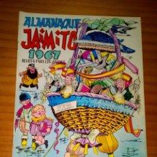 Tebeos: ALMANAQUE JAIMITO 1967 - MUY BUEN ESTADO. Lote 119954415