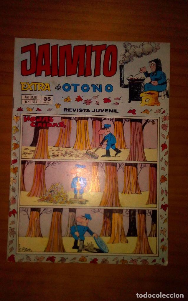 JAIMITO - EXTRA DE OTOÑO - AÑO 1978 - NÚMERO 1503 - PERFECTO ESTADO (Tebeos y Comics - Valenciana - Jaimito)
