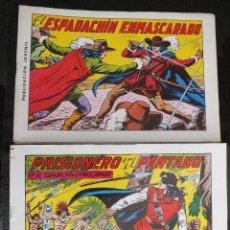 Tebeos: EL ESPADACHIN ENMASCARADO (2ª EDICIÓN), EDITORIAL VALENCIANA, S. A., VALENCIA, 1981, COMPLETA 1—84. Lote 120103823