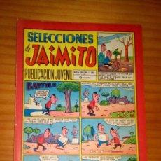 Tebeos: SELECCIONES DE JAIMITO - NÚMERO 136 - BUEN ESTADO. Lote 120308371