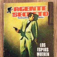 BDs: AGENTE SECRETO - LOS ESPIAS MUEREN DE PIE - COMIC ILUSTRADO B/N 48 PÁGINAS ( REVISTA GRAFICA ). Lote 120612207