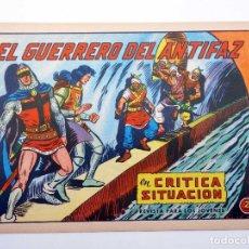 Tebeos: EL GUERRERO DEL ANTIFAZ 603. CRÍTICA SITUACIÓN (MANUEL GAGO) VALENCIANA, 1965. ORIGINAL. Lote 132700006