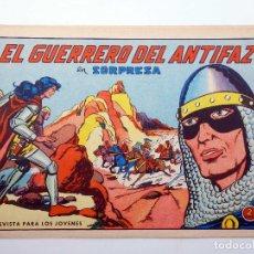 Tebeos: EL GUERRERO DEL ANTIFAZ 610. SORPRESA (MANUEL GAGO) VALENCIANA, 1965. ORIGINAL. Lote 158881813