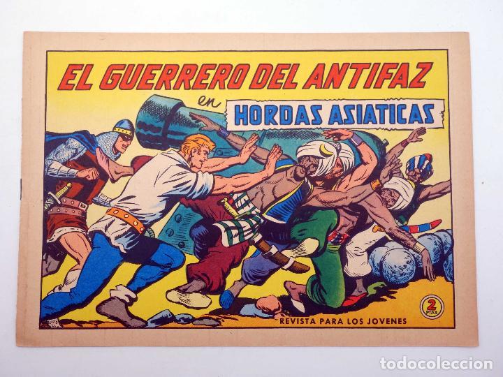 EL GUERRERO DEL ANTIFAZ 620. HORDAS ASIÁTICAS (MANUEL GAGO) VALENCIANA, 1965. ORIGINAL (Tebeos y Comics - Valenciana - Guerrero del Antifaz)