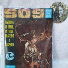 Tebeos: SOS Nº 2(AÑO 1 1975)....PRESENTA USO.. Lote 120941279