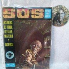 Tebeos: SOS Nº 8....(AÑO 1 1975)....PRESENTA USO.. Lote 120941727