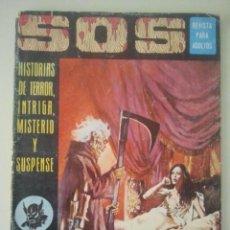 Tebeos: SOS - REVISTA PARA ADULTOS - Nº 13 - EDIVAL, 1975. Lote 121017087