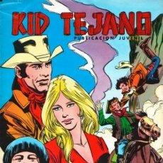 Tebeos: KID TEJANO - Nº 34 -WESTERN JUVENIL DE GRAN CALIDAD-ÚLTIMO COLEC-1980-BUEN ESTADO-DIFÍCIL-LEAN-2085. Lote 178301415