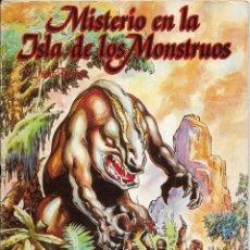 Tebeos: == RV04 - MISTERIO EN LA ISLA DE LOS MONSTRUOS Nº 2 - 1981. Lote 121301619