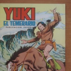 Tebeos: YUKI EL TEMERARIO. AGUAS TURBULENTAS. Nº 18. AMOROS Y JOSÉ GONZÁLEZ. EDITORIAL VALENCIANA.. Lote 121503055