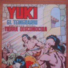 Tebeos: YUKI EL TEMERARIO. TIERRA DESCONOCIDA. Nº 19. AMOROS Y JOSÉ GONZÁLEZ. EDITORIAL VALENCIANA.. Lote 121503119