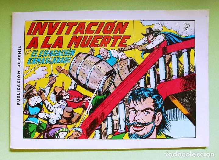 EL ESPADACHÍN ENMASCARADO - 2ª ED. Nº3 (Tebeos y Comics - Valenciana - Espadachín Enmascarado)