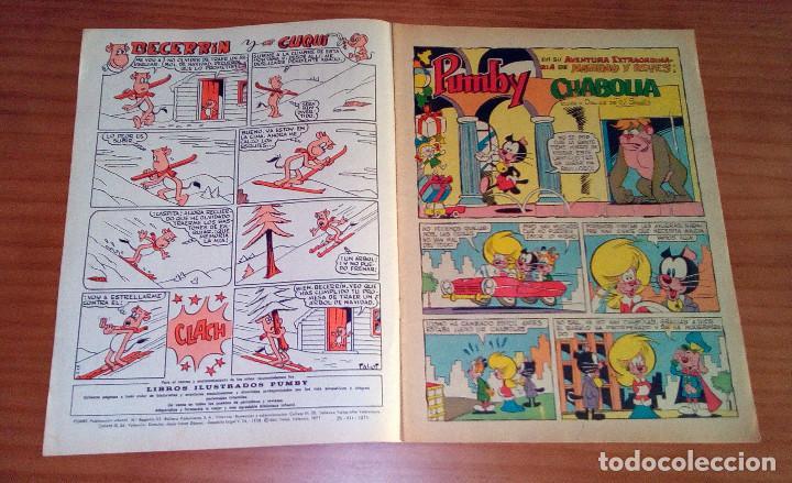 Tebeos: PUMBY - ÁLBUM DE NAVIDAD Y REYES - AÑO 1971 - MUY BUEN ESTADO - Foto 2 - 121552695