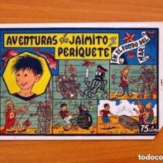 Tebeos: AVENTURAS DE JAIMITO Y PERIQUETE, Nº 5 EN EL FONDO DEL MAR - EDITORIAL VALENCIANA 1943. Lote 121578303