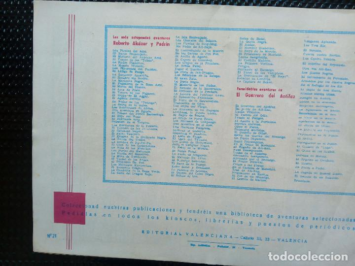 Tebeos: COMIC EL PEQUEÑO LUCHADOR Nº 31 - EDTO. VALENCIANA 1944 - ORIGINAL ( M-2) - Foto 2 - 121657311