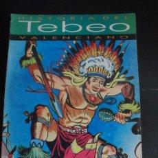 Tebeos: HISTORIA DEL TEBEO VALENCIANO, LEVANTE, Nº 21 DICCIONARIO DE AUTORES EN PORTADA YUKI EL TEMERARIO . Lote 121677775