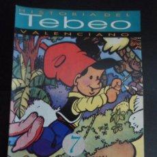 Tebeos: HISTORIA DEL TEBEO VALENCIANO, LEVANTE, Nº 7 REVISTAS DE HUMOR, JAIMITO, PUMBY . Lote 121677871