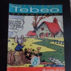 Tebeos: HISTORIA DEL TEBEO VALENCIANO, LEVANTE, Nº 8 AUTORES DE LOS TEBEOS COMICOS , JAIMITO, PUMBY . Lote 121677911