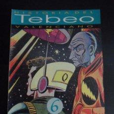Tebeos: HISTORIA DEL TEBEO VALENCIANO, LEVANTE, Nº 6 LOS CUADERNOS DE AVENTURAS DE EDITORIAL VALENCIANA . Lote 121677915