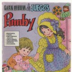 Tebeos: NUMULITE L0069 * GRAN ALBUM DE JUEGOS PUMBY Nº 20 COMO CONSTRUIR JUGUETES. Lote 121738899