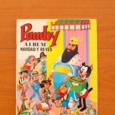 Tebeos: PUMBY - ÁLBUM DE NAVIDAD Y REYES 1965 - EDITORIAL VALENCIANA. Lote 121832143