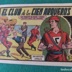 Tebeos: ROBERTO ALCAZAR Y PEDRIN Nº 386 EL CLUB DE LOS CIEN ARQUEROS EDITORIAL VALENCIANA. Lote 121855459