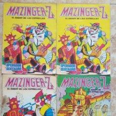 Tebeos: LOTE DE 4 TEBEOS MAZINGER Z EL ROBOT DE LAS ESTRELLAS. Lote 121876494